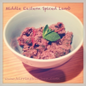 Middle Eastern Spiced Lamb