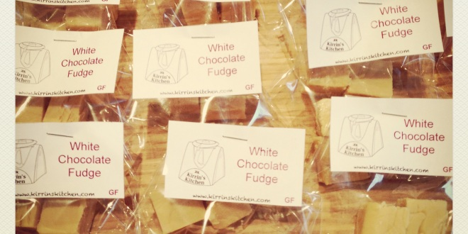 Bags of fudge