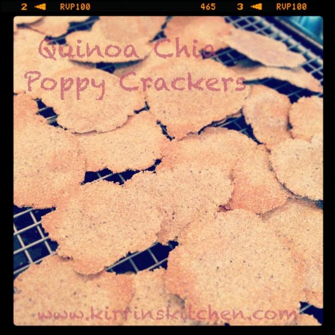 Quinoa Chia Poppy Crisps